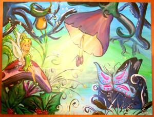 a schilderijtjes elfenland